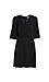 Sandro Surplice Satin Jacquard Mini Dress Thumb 1