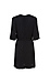 Sandro Surplice Satin Jacquard Mini Dress Thumb 2