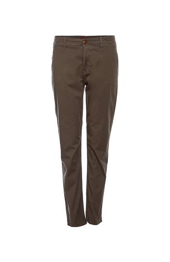 1Denim Cropped Trouser with Welt Pockets Slide 1