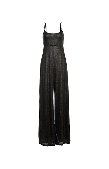 Sleeveless Lurex Jumpsuit Slide 1