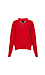 V-Neck Cable Knit Sweater Thumb 1