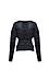 Wrap Lurex Sweater Thumb 2