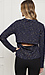 Open Back Speckled Sweater Thumb 2