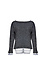 Crew Neck Sweater with Under Shirt Thumb 1