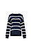 Striped Crew Neck Sweater Thumb 1