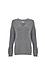 Velvet by Graham & Spencer V-Neck Soft Ribbed Sweater Thumb 1