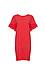 Velvet by Graham & Spencer Ruffle Sleeve Tee Dress Thumb 1