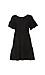Velvet by Graham & Spencer Paneled Ruffle Linen Dress Thumb 1