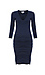 Velvet by Graham & Spencer Lace Up Front Bodycon Dress Thumb 1