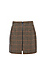Vero Moda Zip Up Front Plaid Skirt Thumb 1
