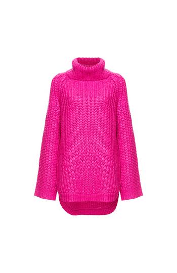 Vero Moda Turtleneck Ribbed Long Sweater Slide 1