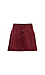 Jack by BB Dakota Snap Front Faux Suede Skirt Thumb 1