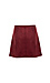 Jack by BB Dakota Snap Front Faux Suede Skirt Thumb 2