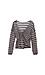 Mystree Striped Back Knot Sweater Thumb 2