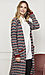 Mystree Striped Long Cardigan Thumb 2