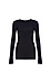 Long Sleeve Round Neck Top Thumb 1