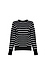 Contrast Stripes Sweater Thumb 1