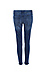 Vervet Mid Rise Distressed Ankle Skinny Thumb 2