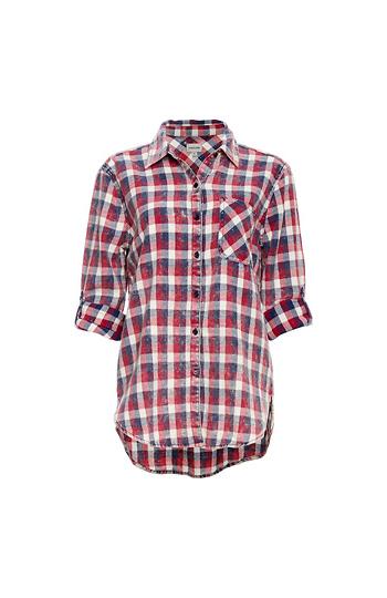 Button Up Plaid Shirt Slide 1
