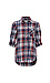 Button Up Single Pocket Plaid Shirt Thumb 1