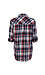 Button Up Single Pocket Plaid Shirt Thumb 2