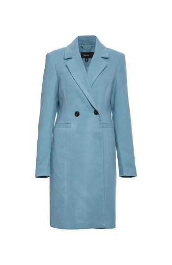 Vero Moda Long Structured Coat Slide 1