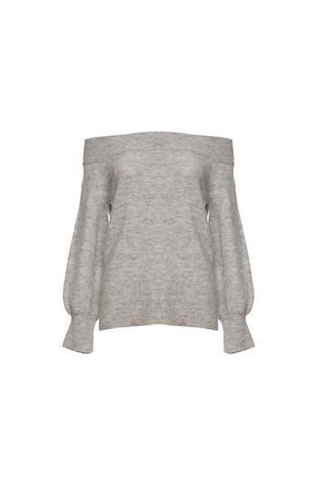 Vero Moda Off Shoulder Long Sleeve Knit Top Slide 1