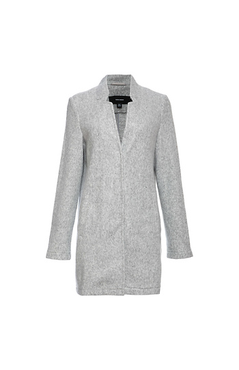 Vero Moda Lightweight Brushed 3/4 Length Coat Slide 1