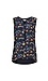 Sleeveless Printed Front Contrast Jersey Top Thumb 1