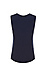 Sleeveless Printed Front Contrast Jersey Top Thumb 2