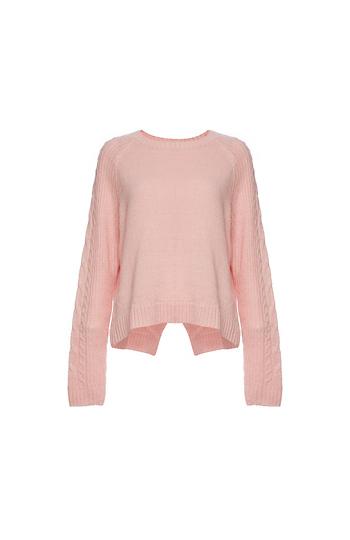BCBGeneration Long Sleeve Pullover Sweater Slide 1