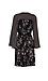 Mystree V-Neck 3/4 Sleeve Printed Dress Thumb 2