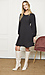 Mystree Round Neck Bishop Sleeves Dress Thumb 3
