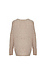 Mystree V-Neck Dropped Shoulder Sweater Thumb 2
