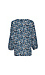 Collective Concepts V-Neck 3/4 Sleeve Printed Top Thumb 2
