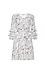 Surplice Printed Dress Thumb 1