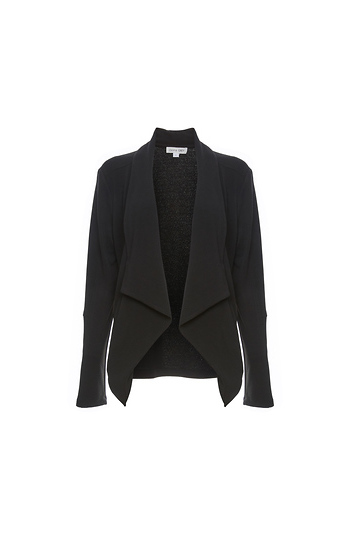 Bradley Draped Front Moto Jacket Slide 1