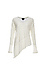 V-Neck Asymmetrical Long Sleeve Top Thumb 1