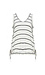 V-Neck Striped Knit Tank Thumb 1