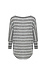 3/4 Striped Dolman Sleeve Knit Top Thumb 2