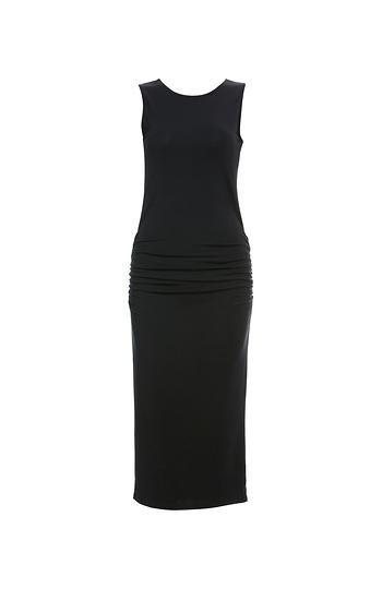 Crisscross Back Bodycon Dress Slide 1