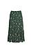 Floral Pleated Midi Skirt Thumb 1