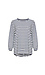 Round Neck Striped Top Thumb 1