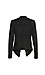 Liverpool Draped Perforated Suede Jacket Thumb 2