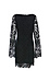Lace Long Sleeve Shift Dress Thumb 2