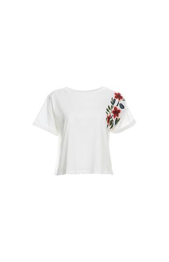 Mod Ref Embroidered Short Sleeve Tee Slide 1