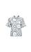 Mod Ref Short Sleeve Scarf Print Shirt Thumb 1