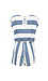 Nautical Stripe Comfy Romper Thumb 2