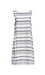 Beach Lunch Lounge Striped Sleeveless Dress Thumb 1