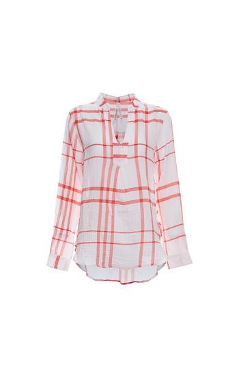 Liverpool Pullover Mandarin Collar Shirt Slide 1